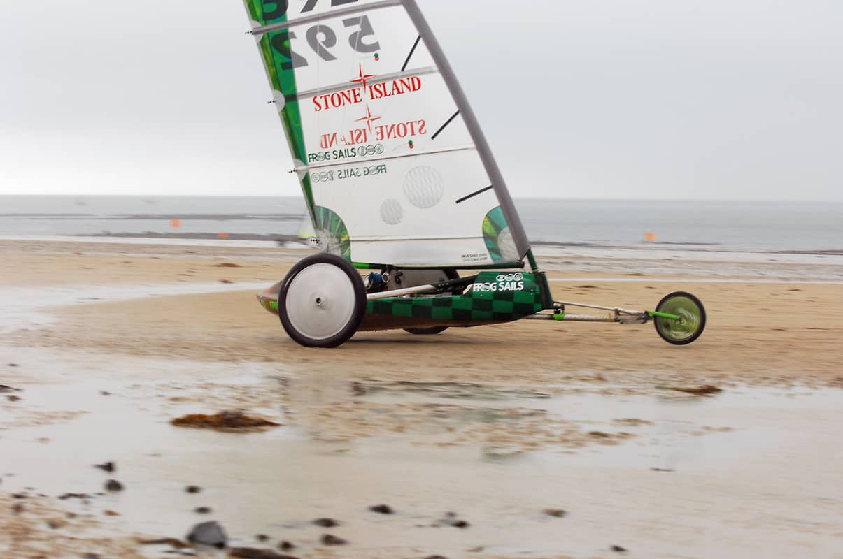 Strandsegeln Sven kraja