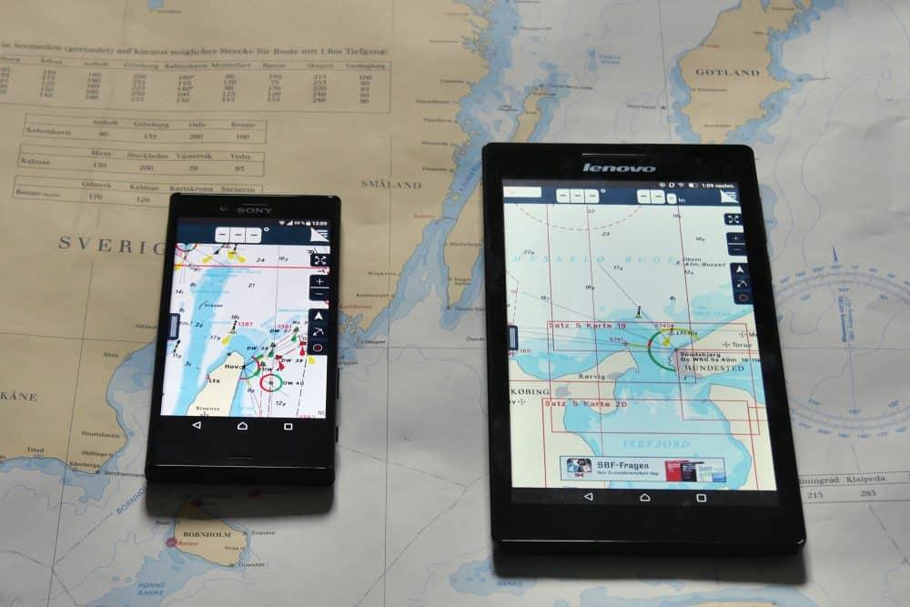 Tablet und Smartphone App Navigation