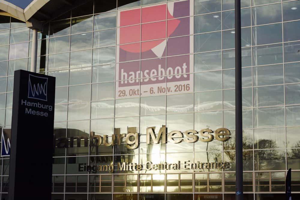 Eingang der Hanseboot 2016