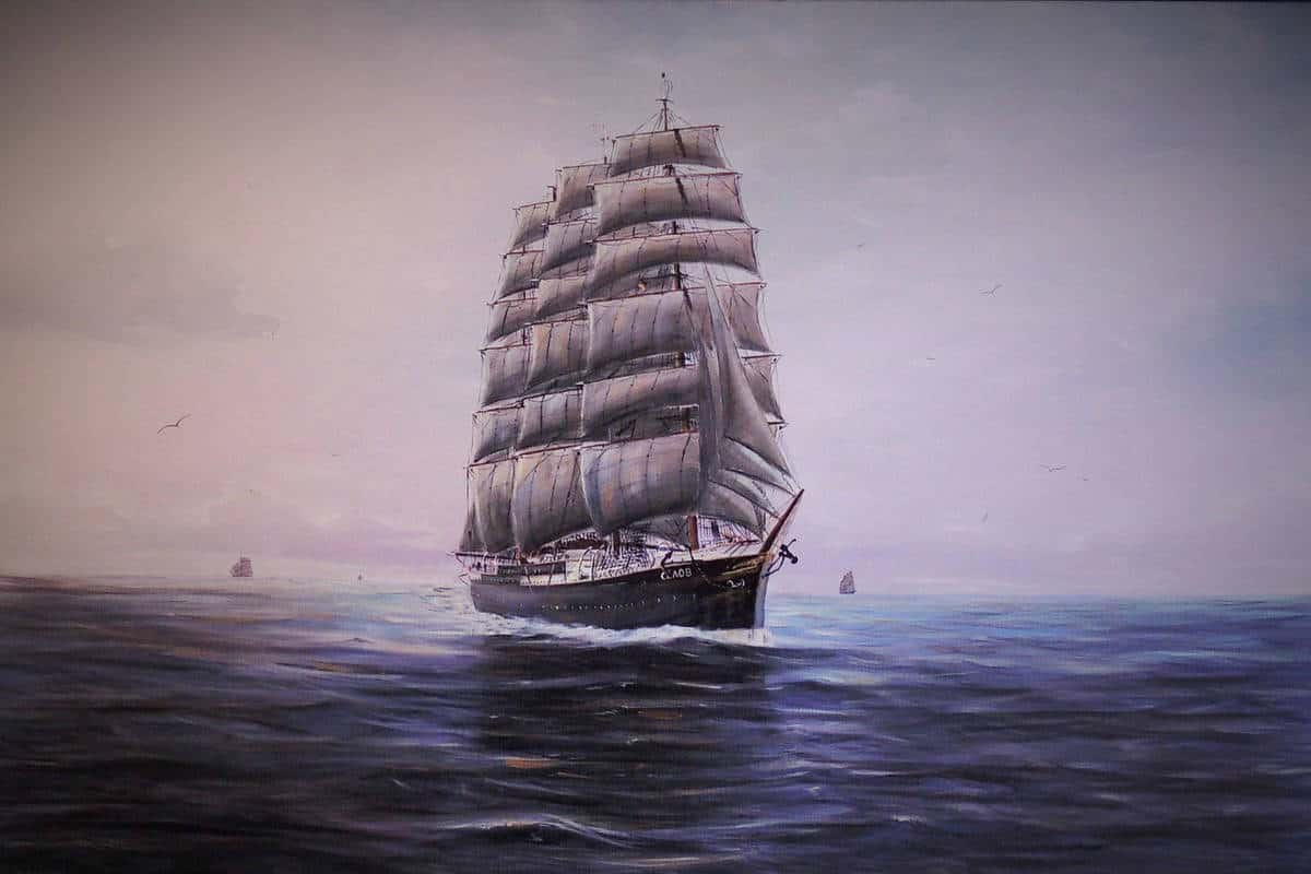 Viermastbark-Sedov