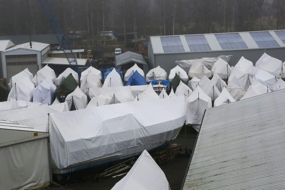Refit und Winterlager