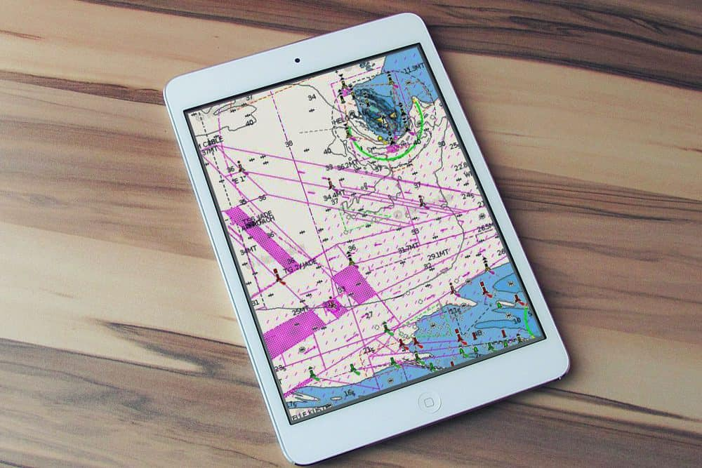 Tablet Navionics