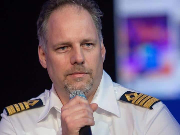 Kapitän Gus Andersson