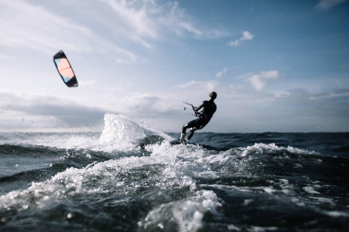 Kite im Wind