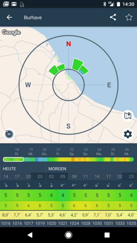 Screenshot Windy App