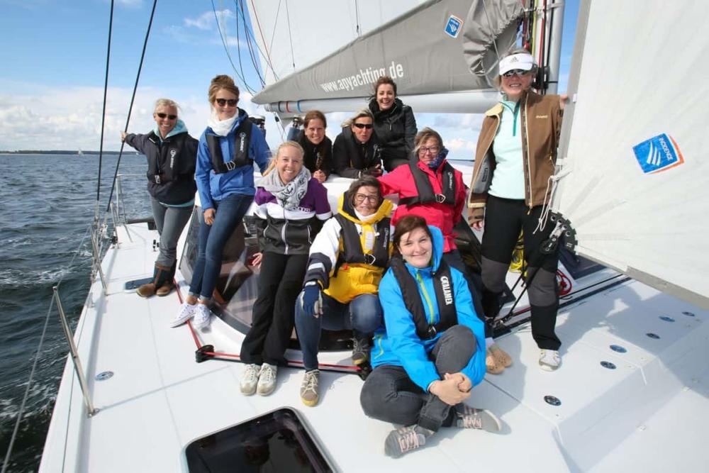 Frauen-Segeltraining Bavaria Yachts Warnemünde