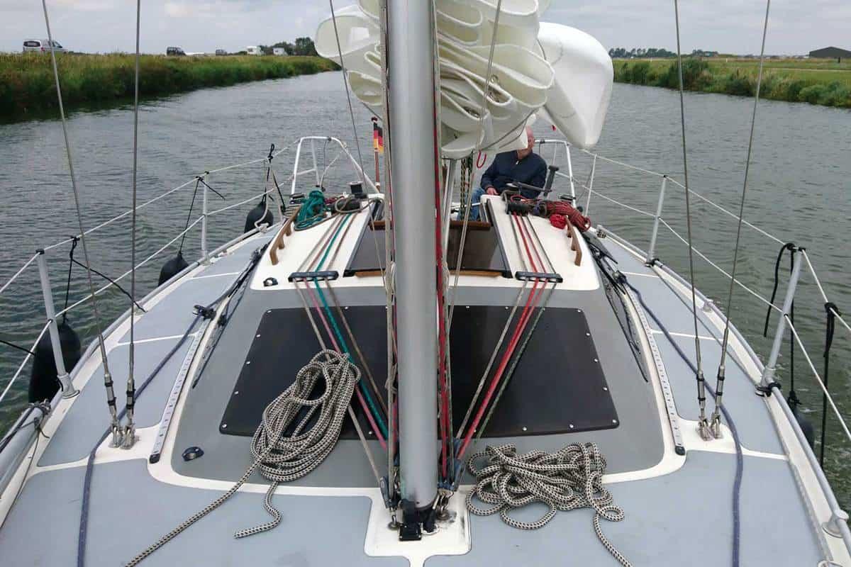 Staande Mast Route