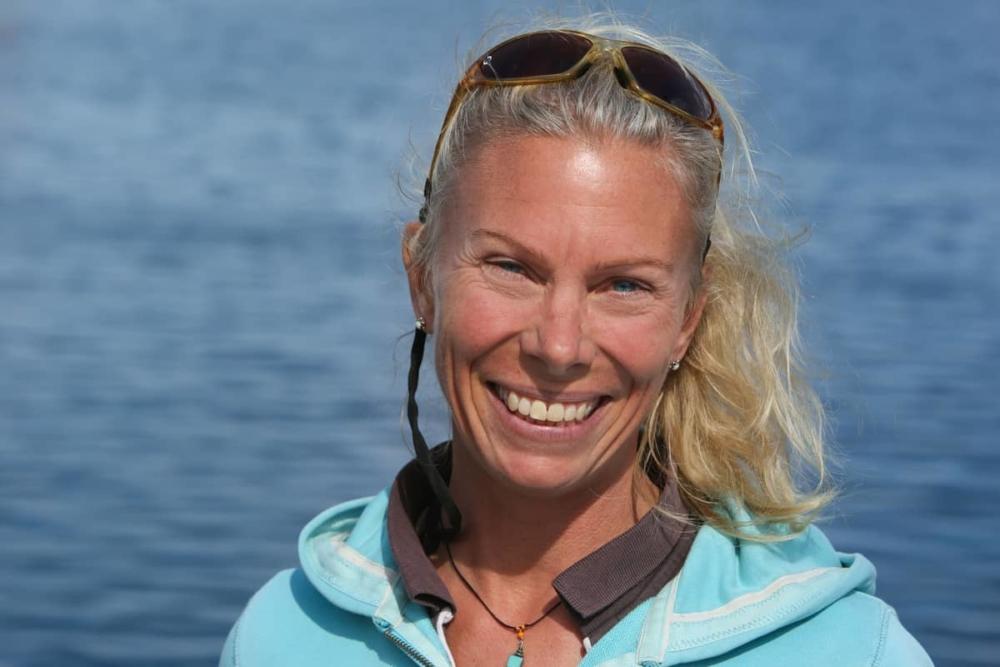 Mareike Guhr, Frauen-Segeltraining Bavaria Yachts Warnemünde