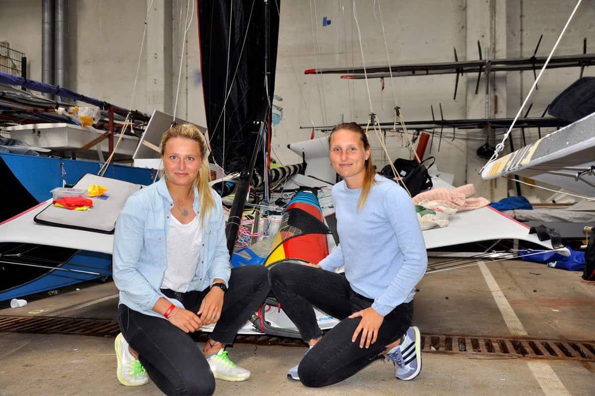 Frauen im Leistungssport: Jule und Lotte Görge
