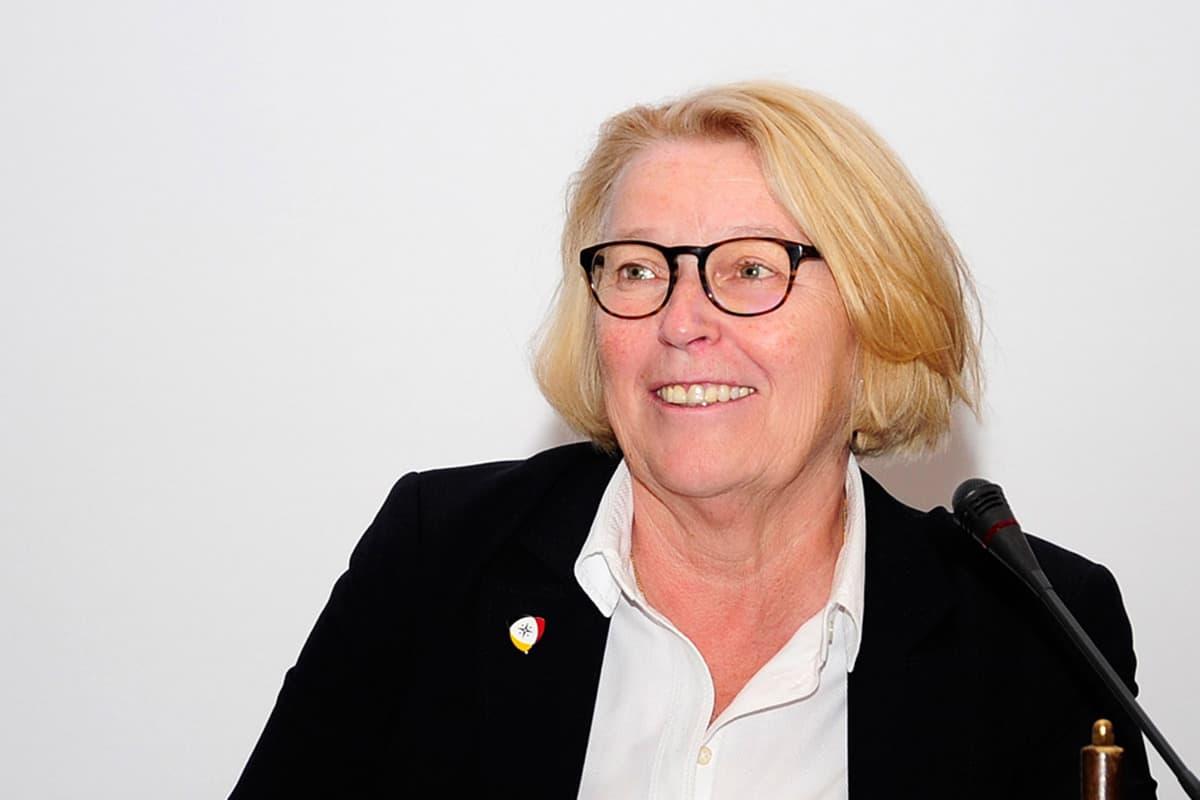DSV-Präsidentin Mona Küppers beim Seglertag 2017