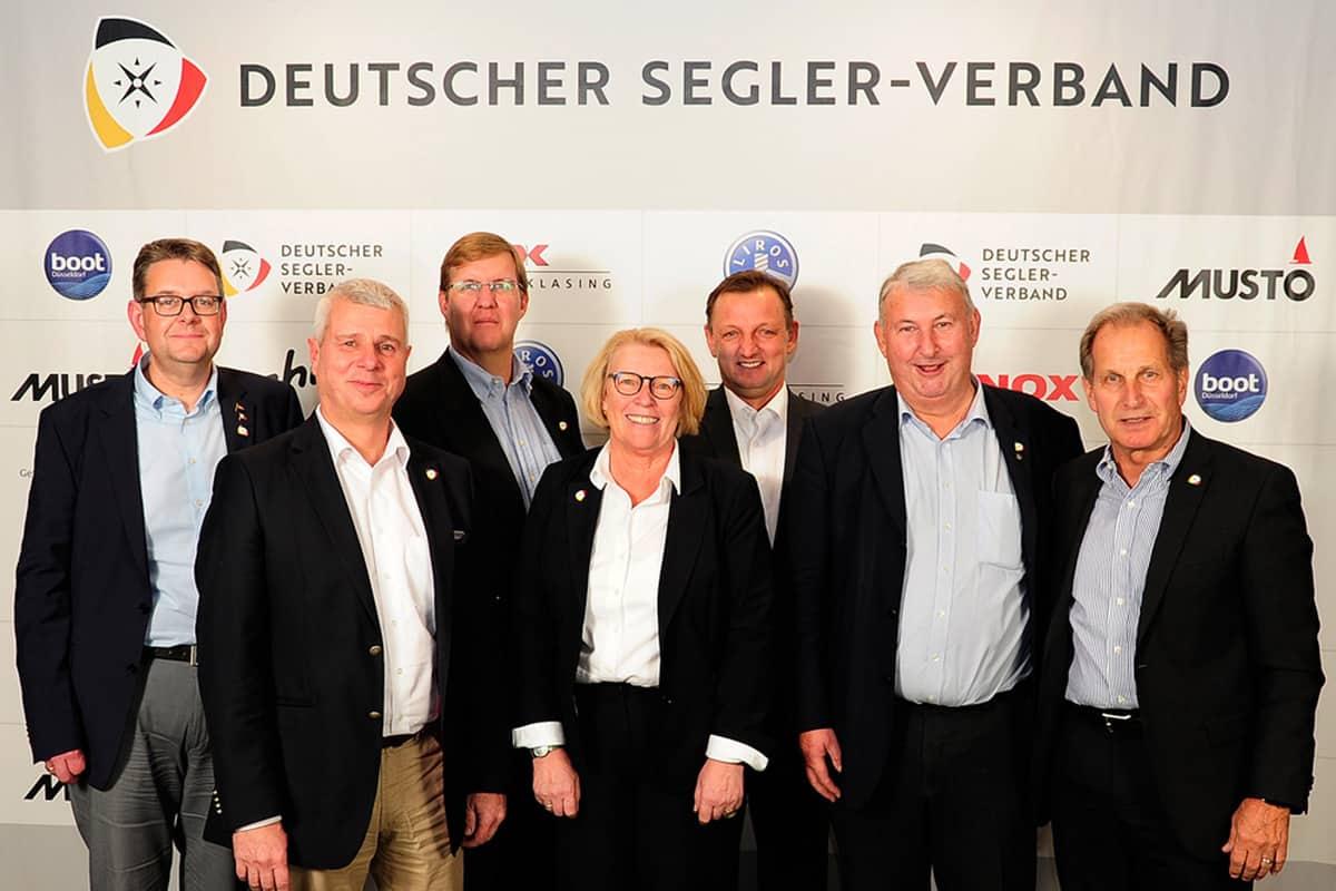 Das neue DSV-Präsidium nach der Wahl