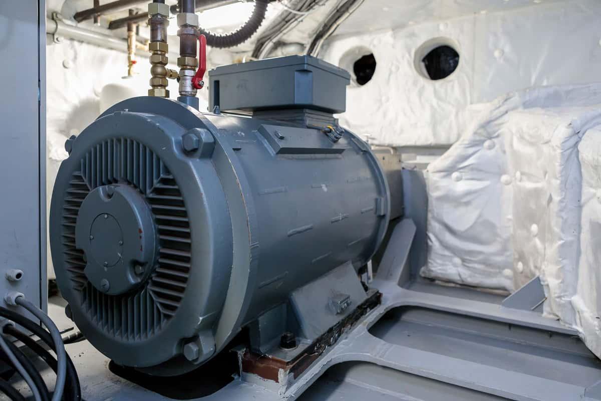 Wassergekühlter Elektromotor mit 140 kw