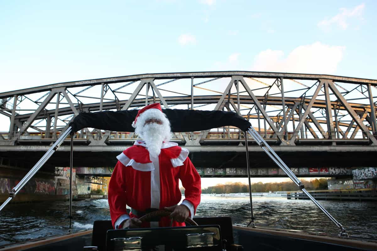 float-Weihnachtsmann