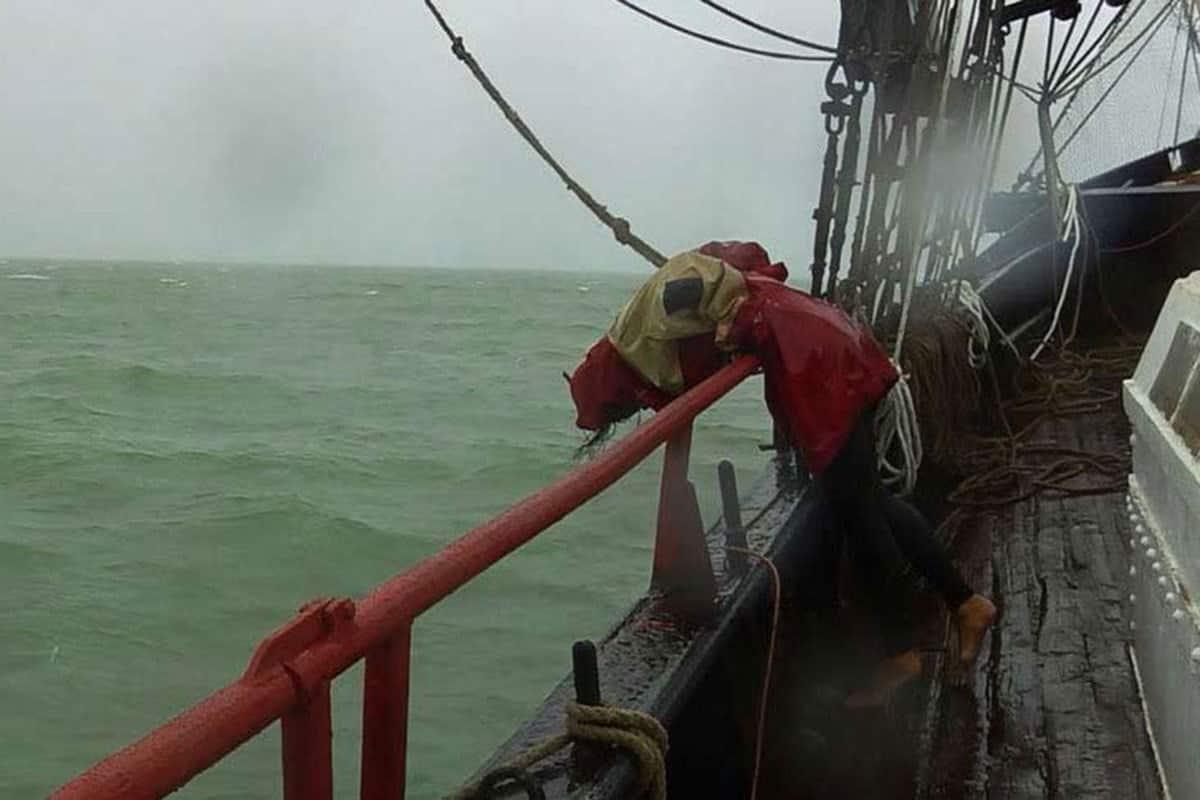 Simpler Trick bei Seekrankheit