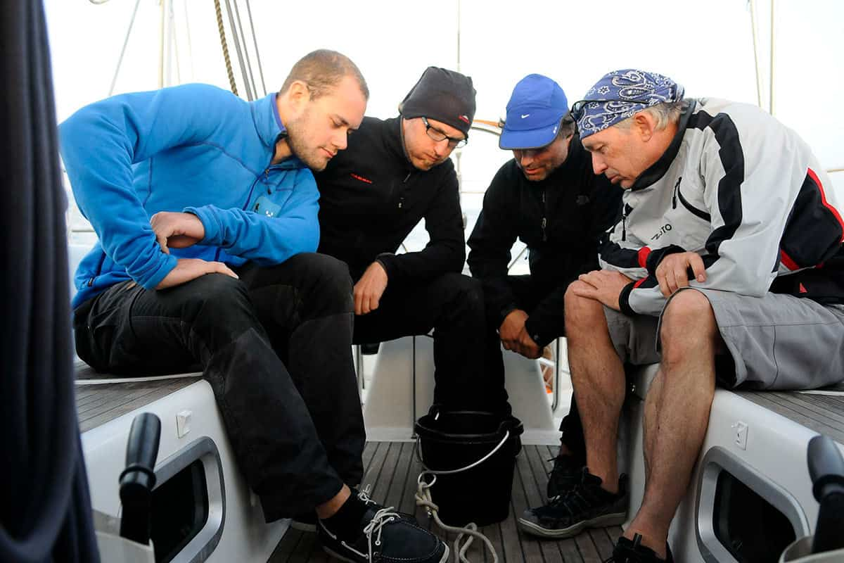 Seekrankheit Seasickness