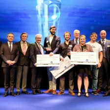 """Green Boats gewinnt den """"ocean tribute Award"""" auf er boot"""