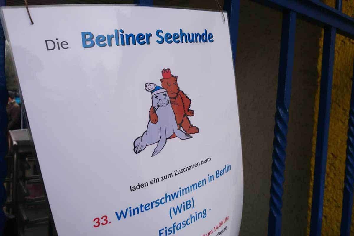 Eisfasching am Orankesee