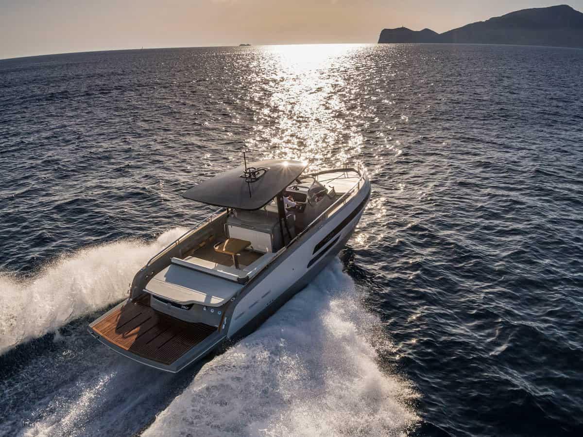Italienisches Design auf dem Wasser