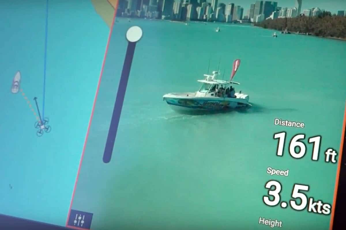 Raymarine steuert Drohne
