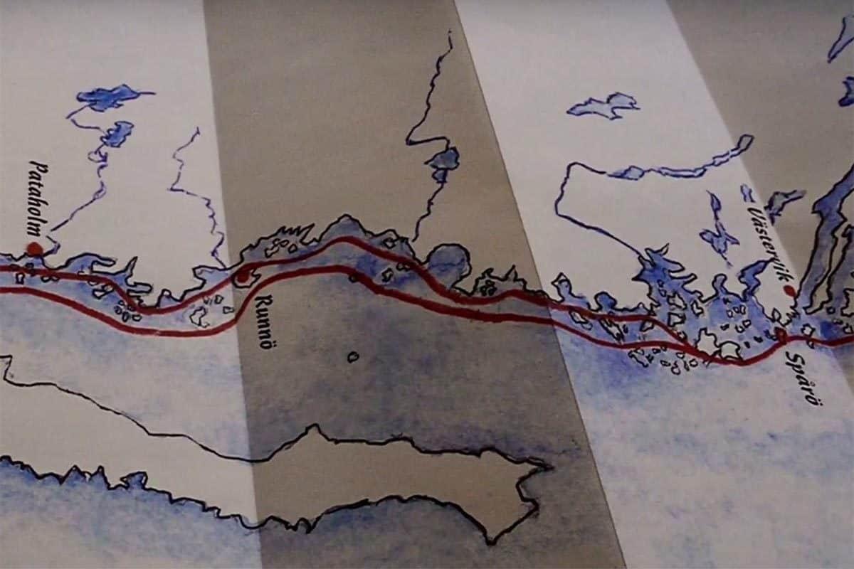 Die Route der Wikinger