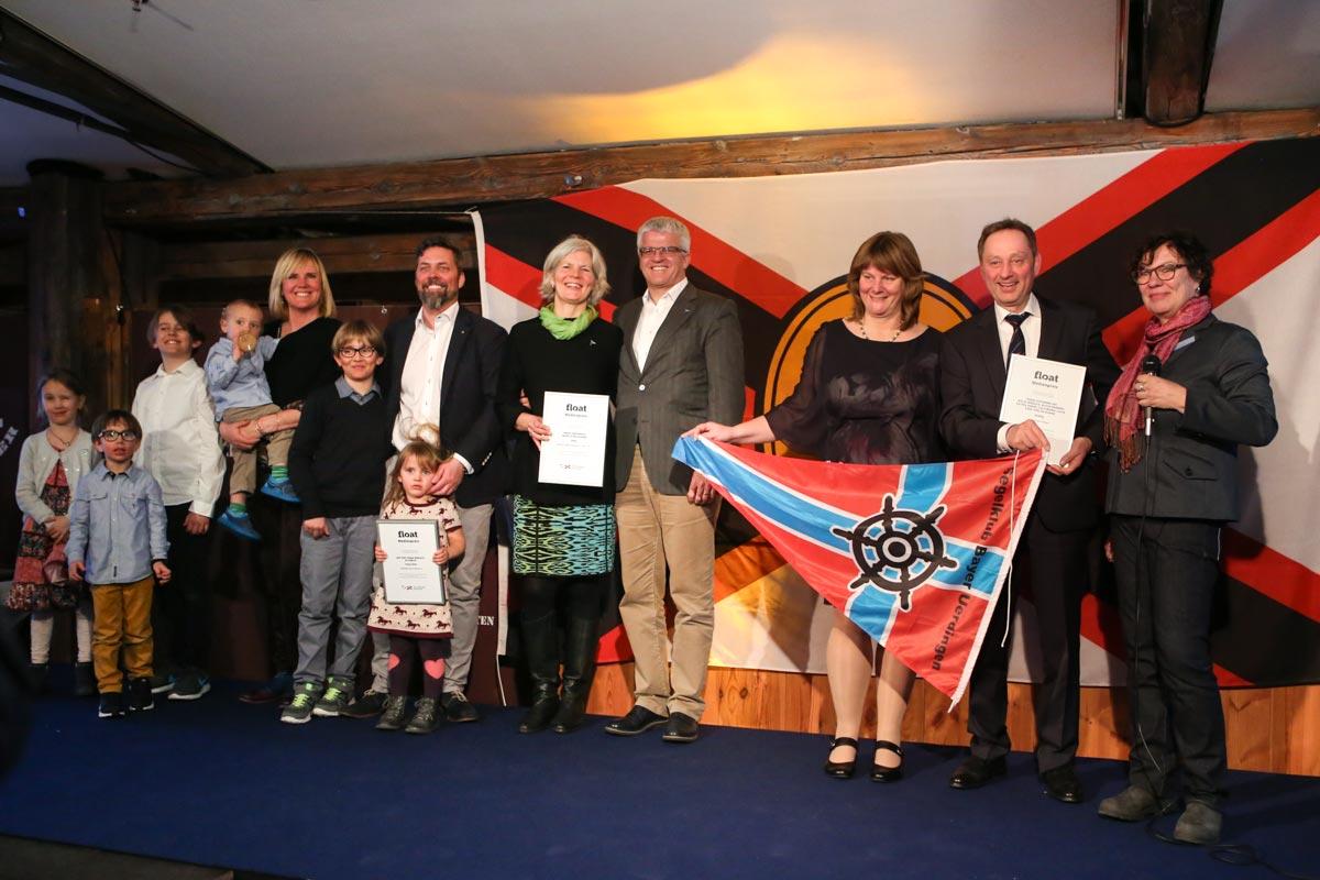Die Gewinner der float-Medienpreise © Tommy Loewe