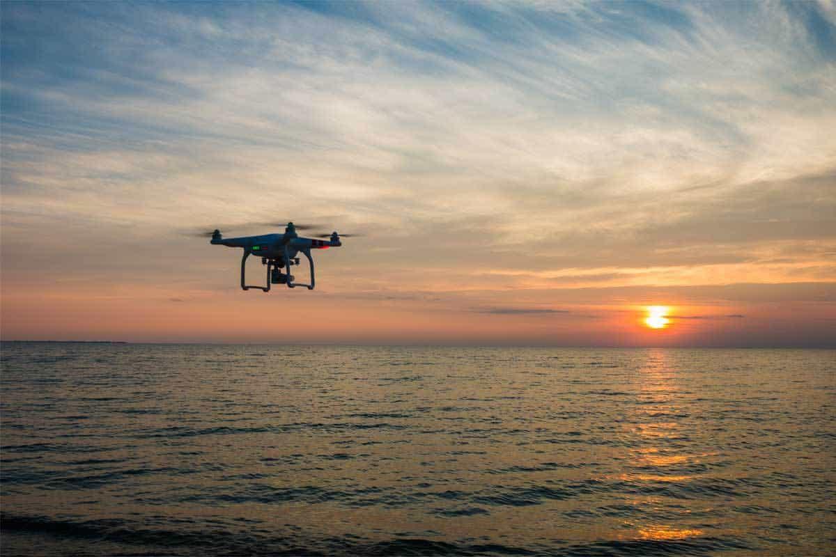 Wenn Drohnen baden gehen