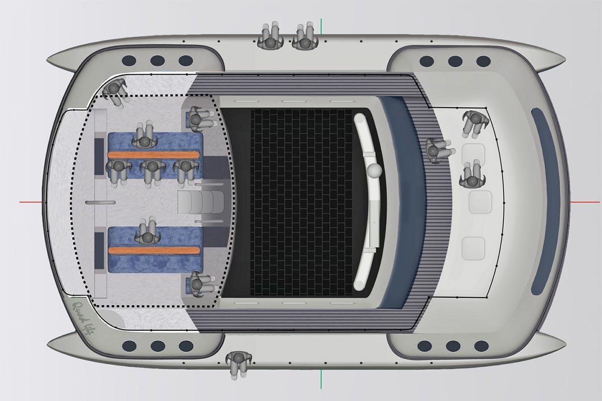 Quad Marine 44