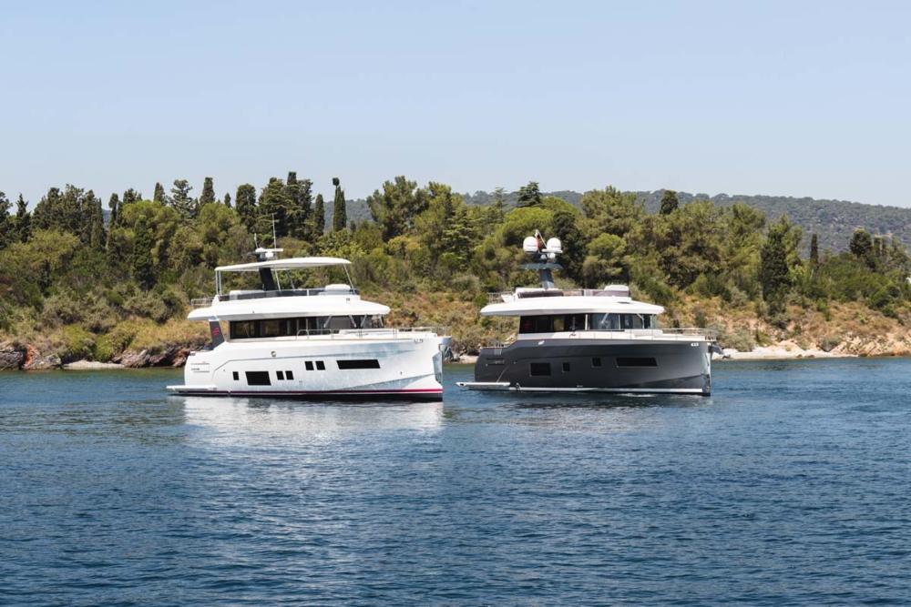 Sirena 64 und 58 © Werft/Jeff Brown