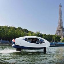 Testfahrt in Paris © Sea Bubbles