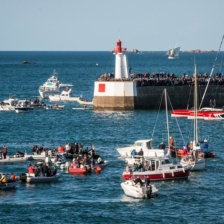 Start der Route du Rhum in St. Malo © Bobostudio CC-BY-2.0