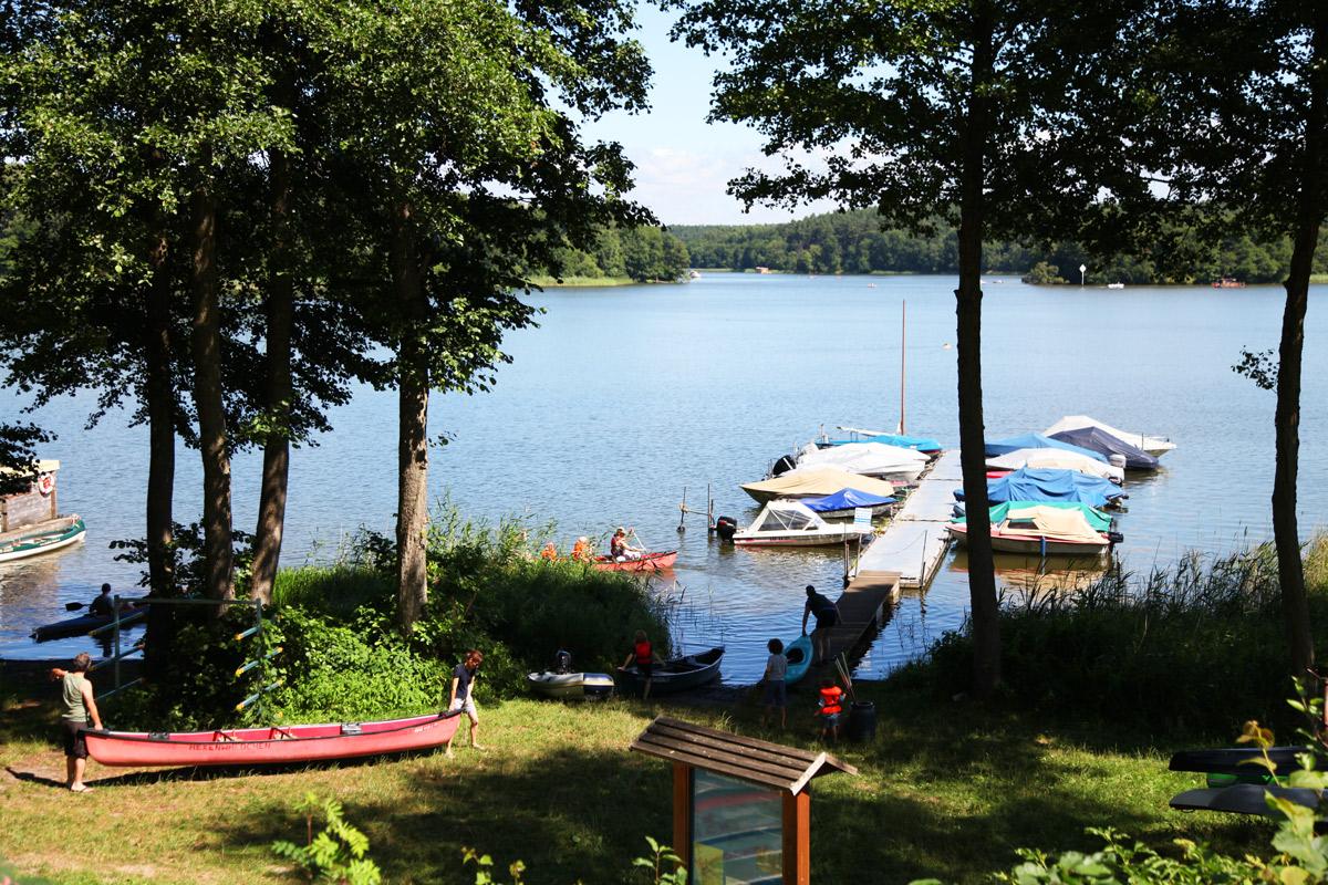 Camping am Ellbogensee