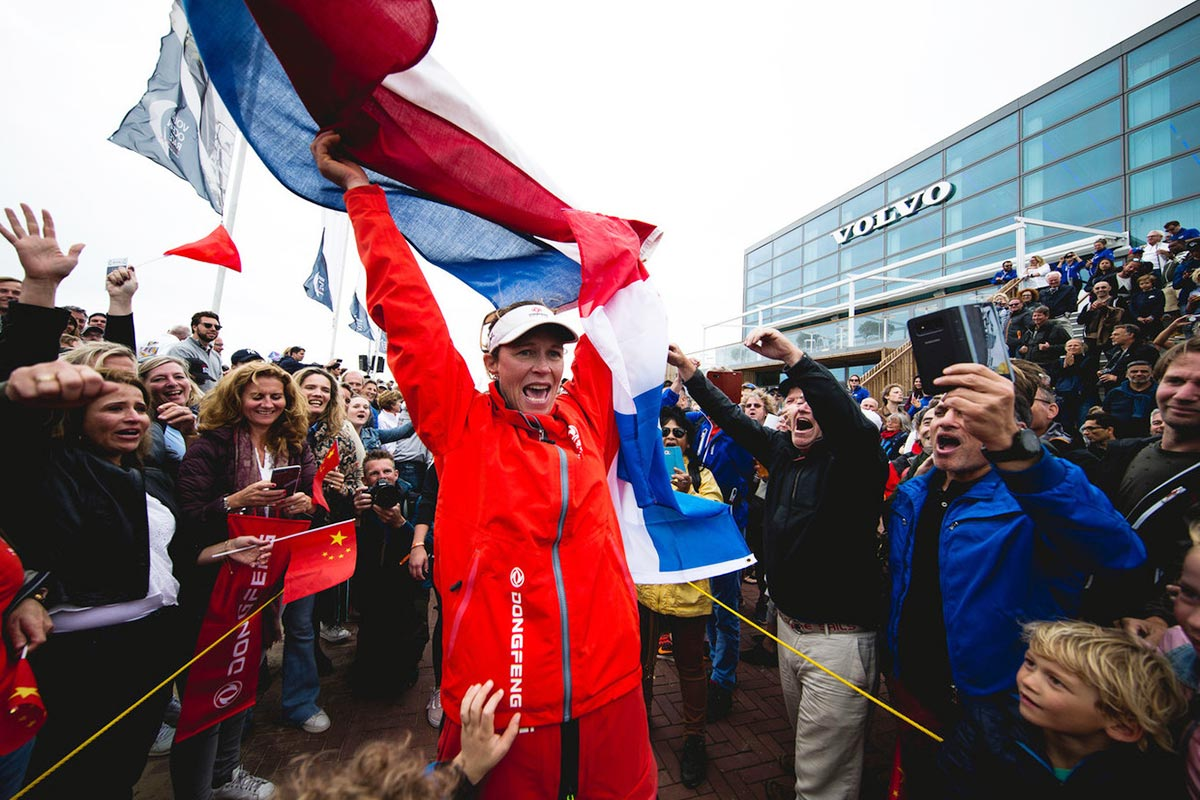 Volvo Ocean Race Dongfeng Carolijn Brouwer