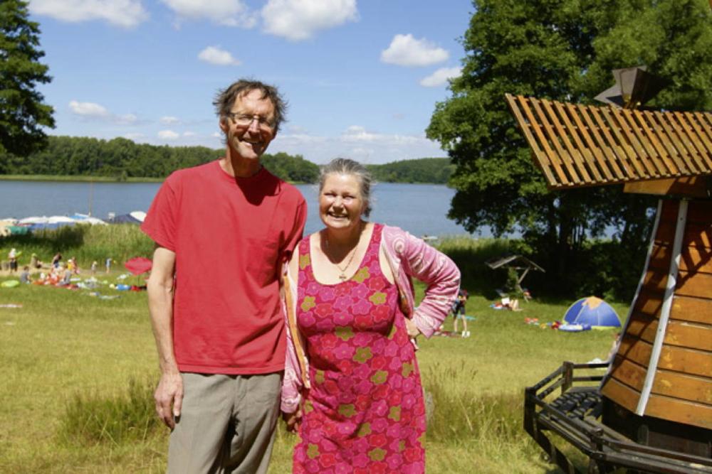 Marianna von Schmidt und Niek Kuijs – zwei Holländer am Ellbogensee © Weiß/Seenland