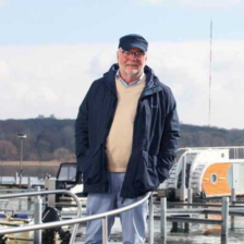 Peter Twelkmeyer in seiner Marina © Florian Diesing / Seenland