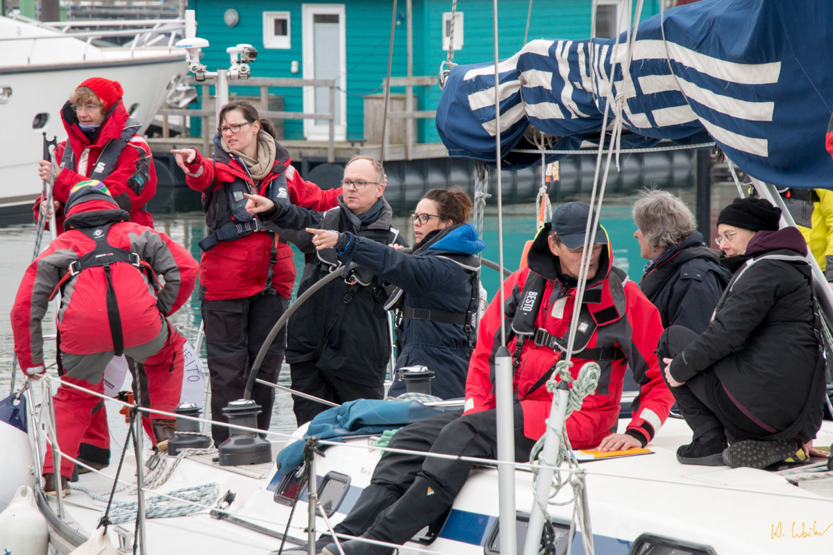 SkipsPsy Crewführung Trainingskurs © Hinnerk Weiler