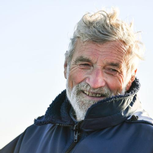 Jean Luc Van den Heede will es wissen: Der 73-jährige segelt das Golden Globe Race trotz Wackelmast weiter © PPL/GGR
