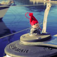 Weihnachtsmann an Bord