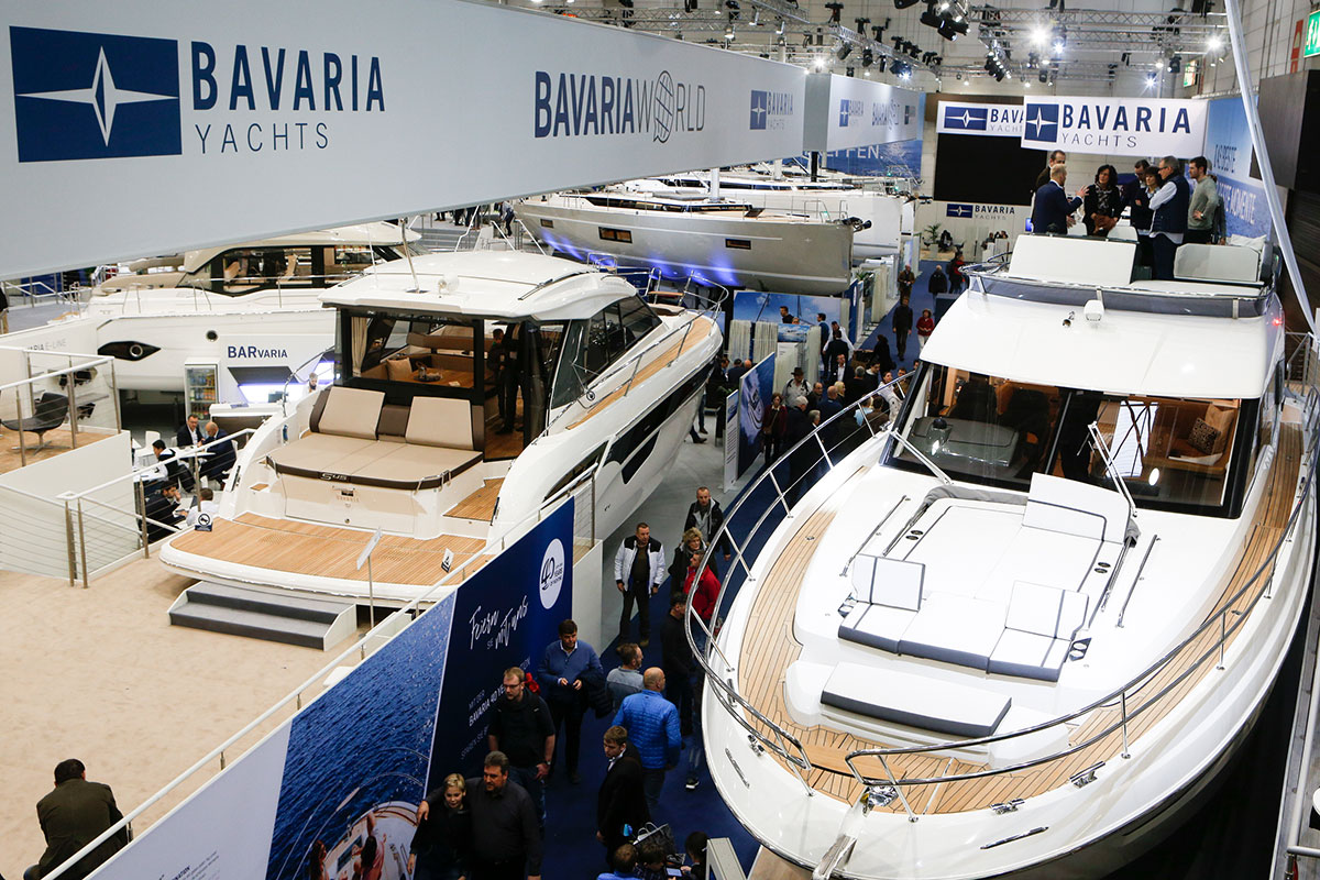 Die R55 von Bavaria Yachts