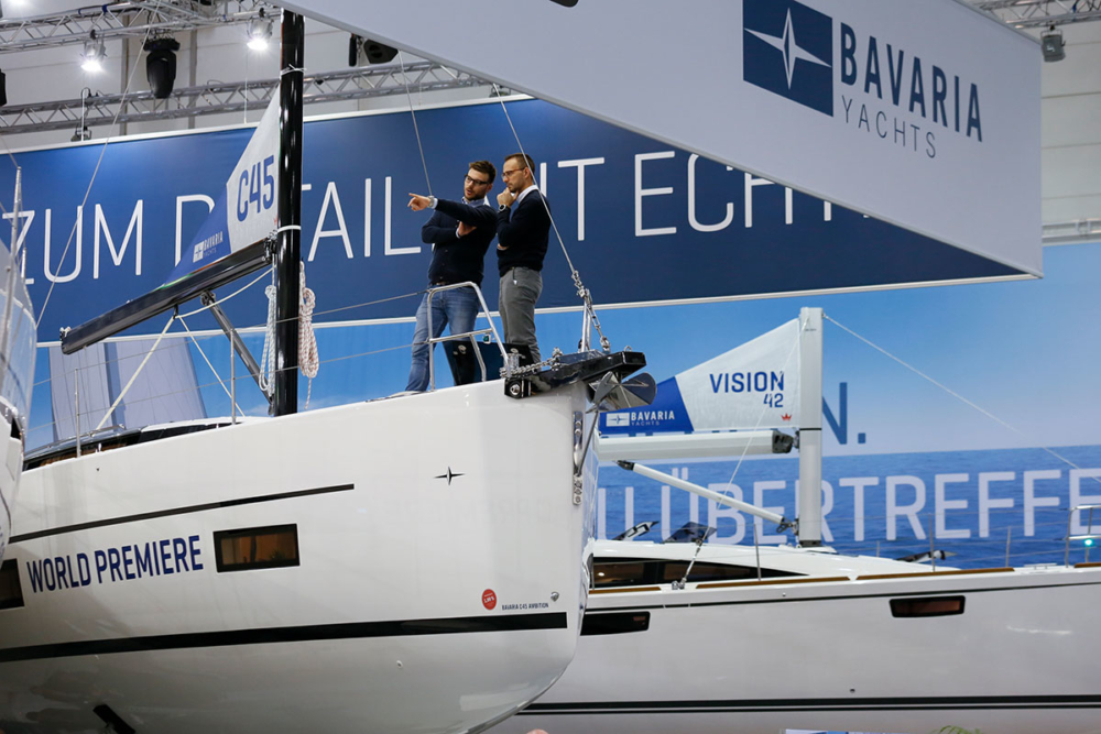 Die Bavaria-Modelle von 2018 sind weiterhin aktuell © Messe Düsseldorf
