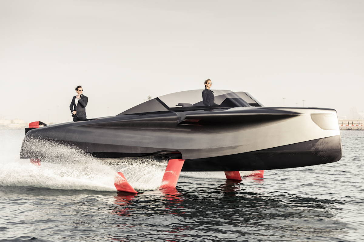 Enata Foiler Flying Yacht