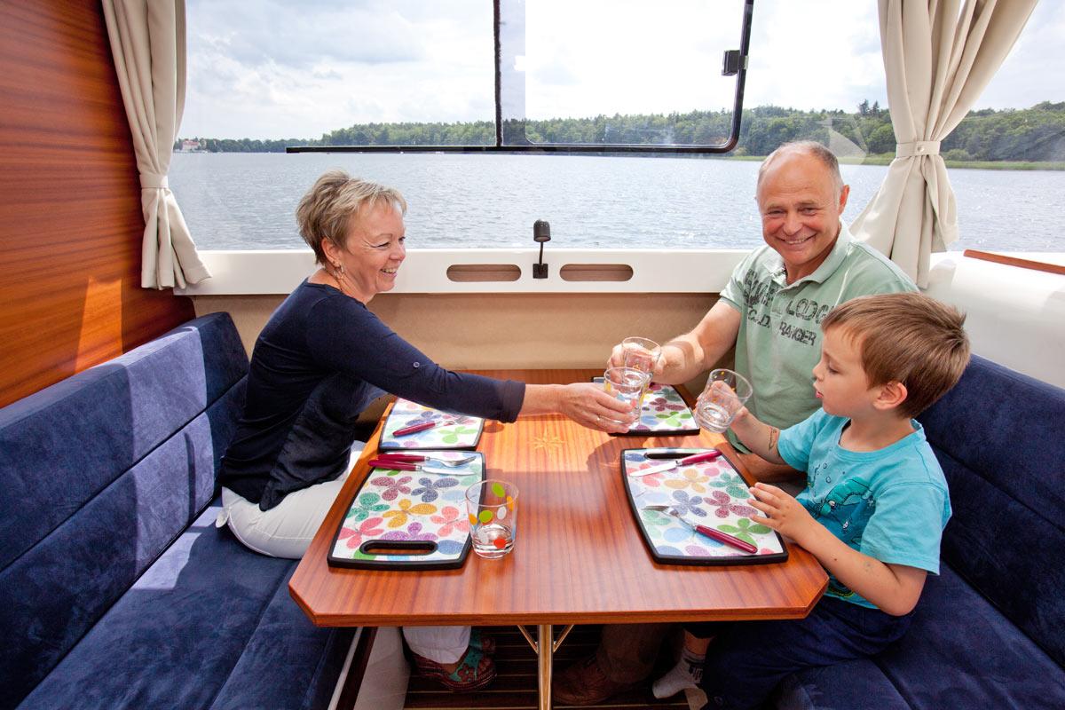 Familienboot SunCamper 30 Lux
