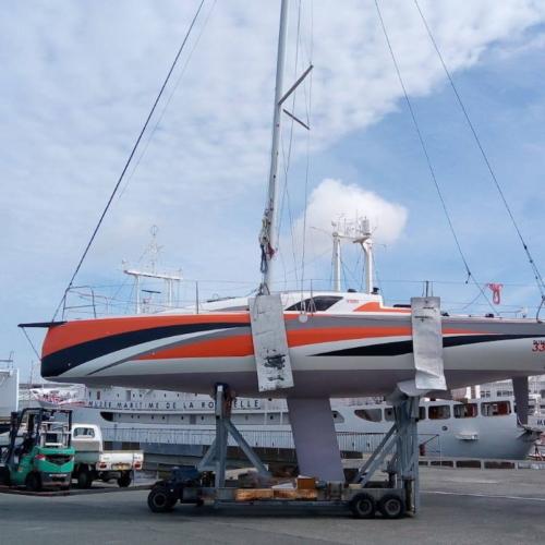 Jeanneau Sun Fast 3300 vorm Test in La Rochelle © Werft