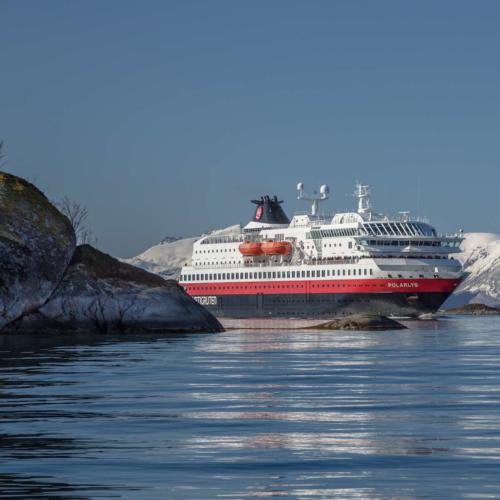 Die Polarlys © Carsten Pedersen / Hurtigruten