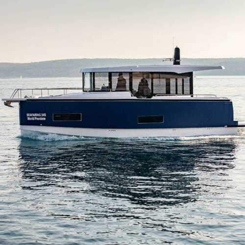 Seafaring 34S © Matjaz Ocko / Werft