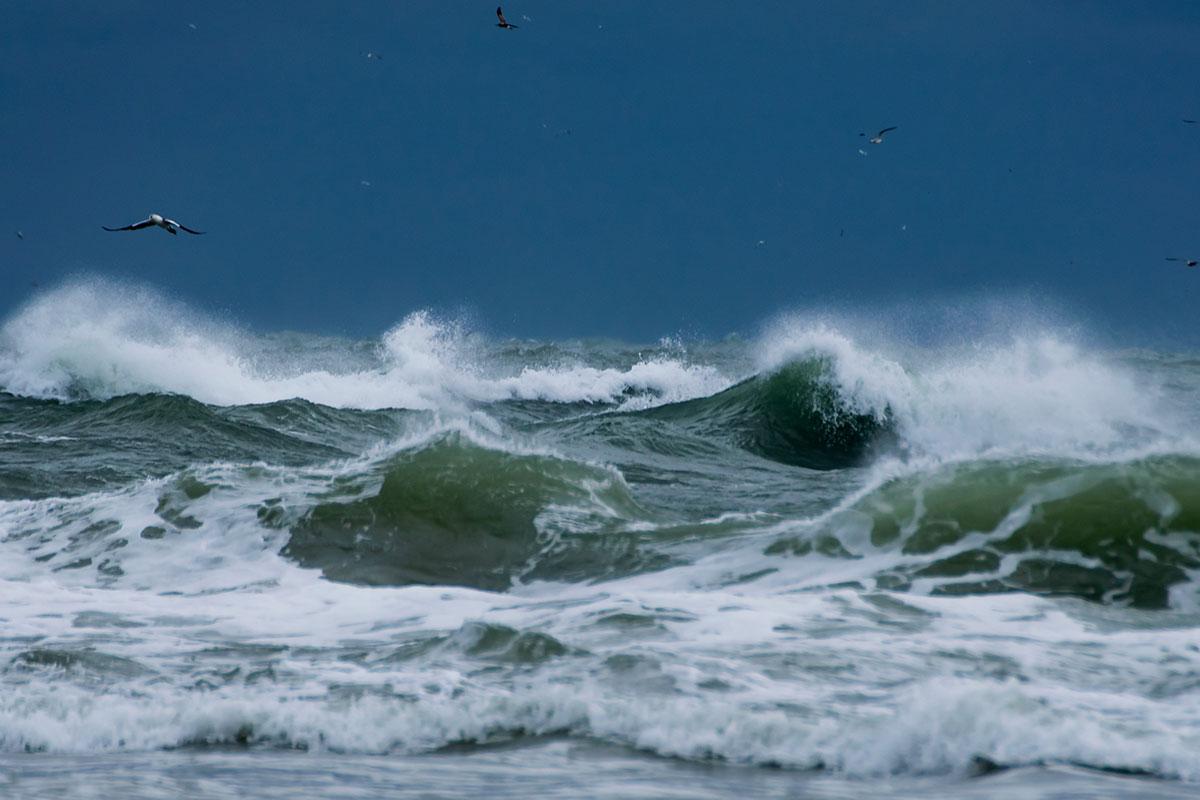 Weltmeere werden stürmischer