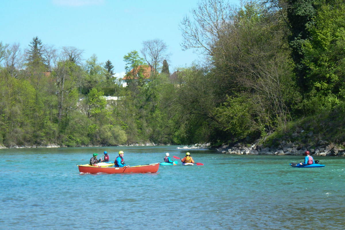 Kanu-Testival Entdecke Wassersport