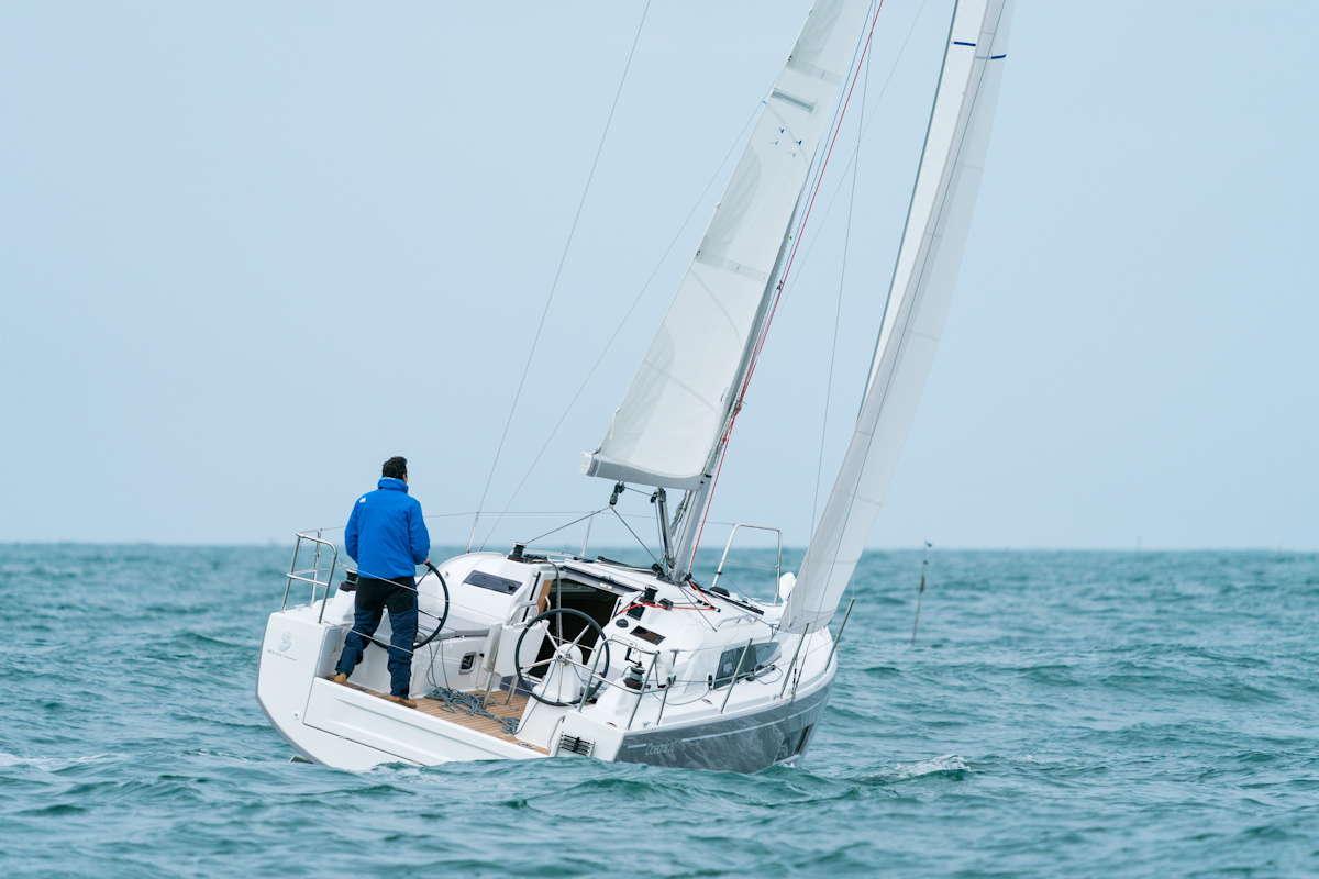 Knapp 9,50 Meter ist die Oceanis 30.1 lang © Werft