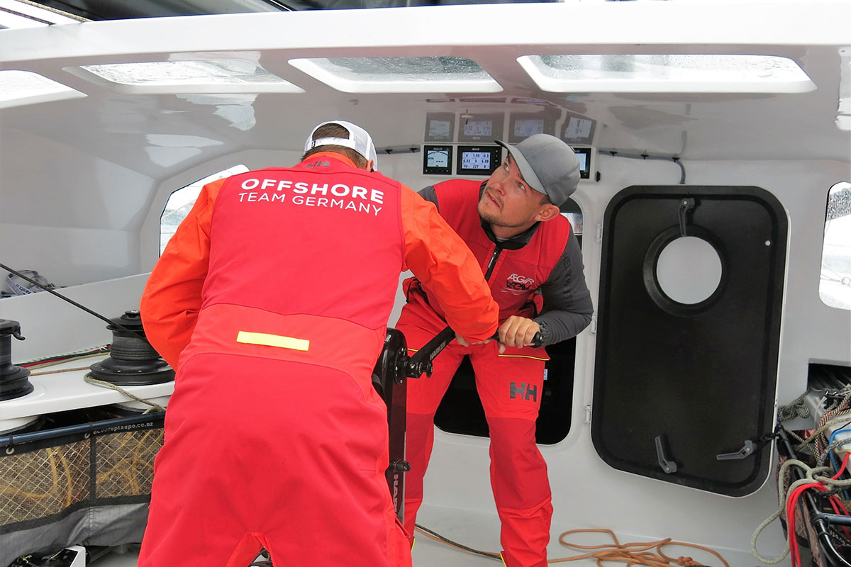 Phillip Kasüske Offshore Team Germany