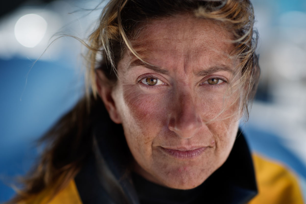Dee Caffari Turn the Tide on Plastik Volvo Ocean Race