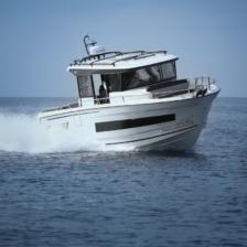 Die Jeanneau Merry Fisher 895 Marlin ist sehr kompakt